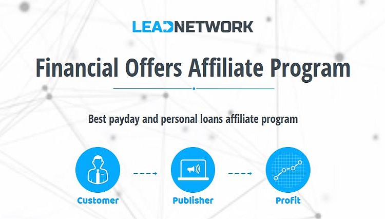 Партнерская программа Payday loans Leadnetwork
