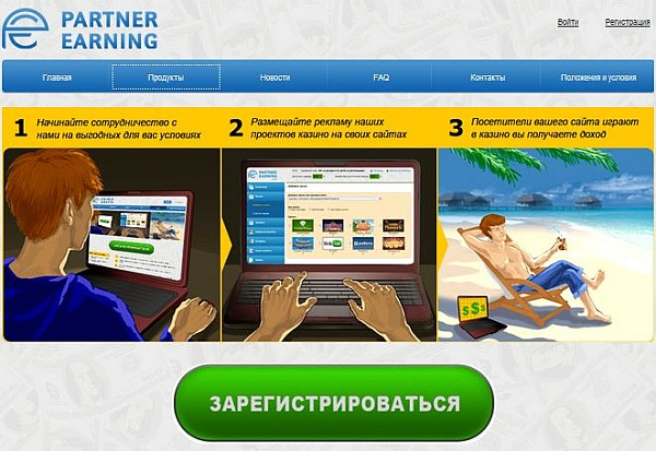 partnerka casino partnerearning